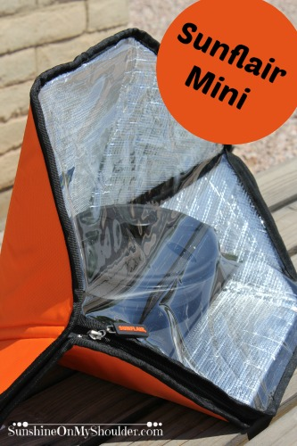 Sunflair Mini solar oven benefits of solar cooking