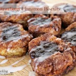 Easy Strawberry Cinnamon Biscuits