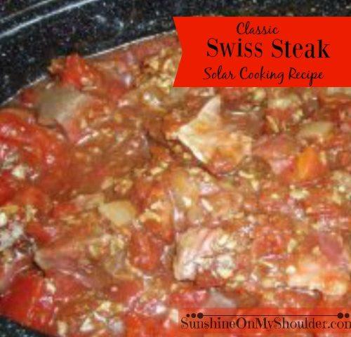 Classic Swiss Steak Recipe for Solar Cooking