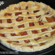 Southern Peach Pie Recipe for Solar Cooking