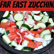 Far East Zucchini Tomato Onion Recipe for Solar Oven Cooking
