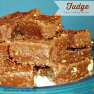 Easy Sunshine Solar Fudge Recipe for Solar Cooking