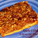 Apple Crisp Crescent Bars