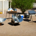 Solar Cooking Demo at October Sustainability Tour of Homes 2011