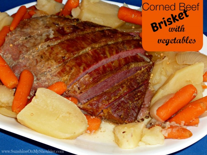 image of corned beef brisket