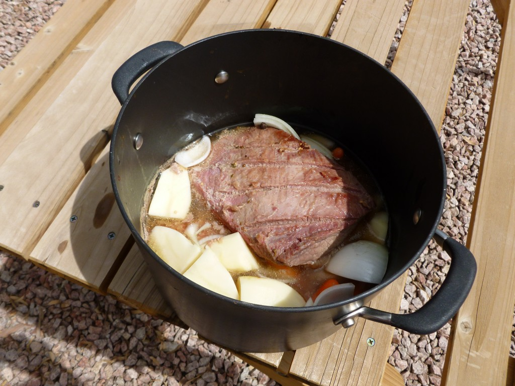 corned beef with vegetables