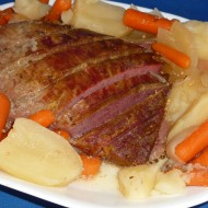 corned beef brisket with vegetables