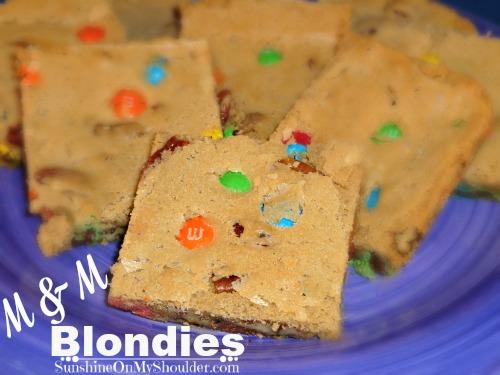 M&M Blondies