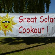 Solar Cooking Demo at Great Solar Cookout 2012