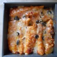 Chicken Enchiladas baked in a Solar Oven