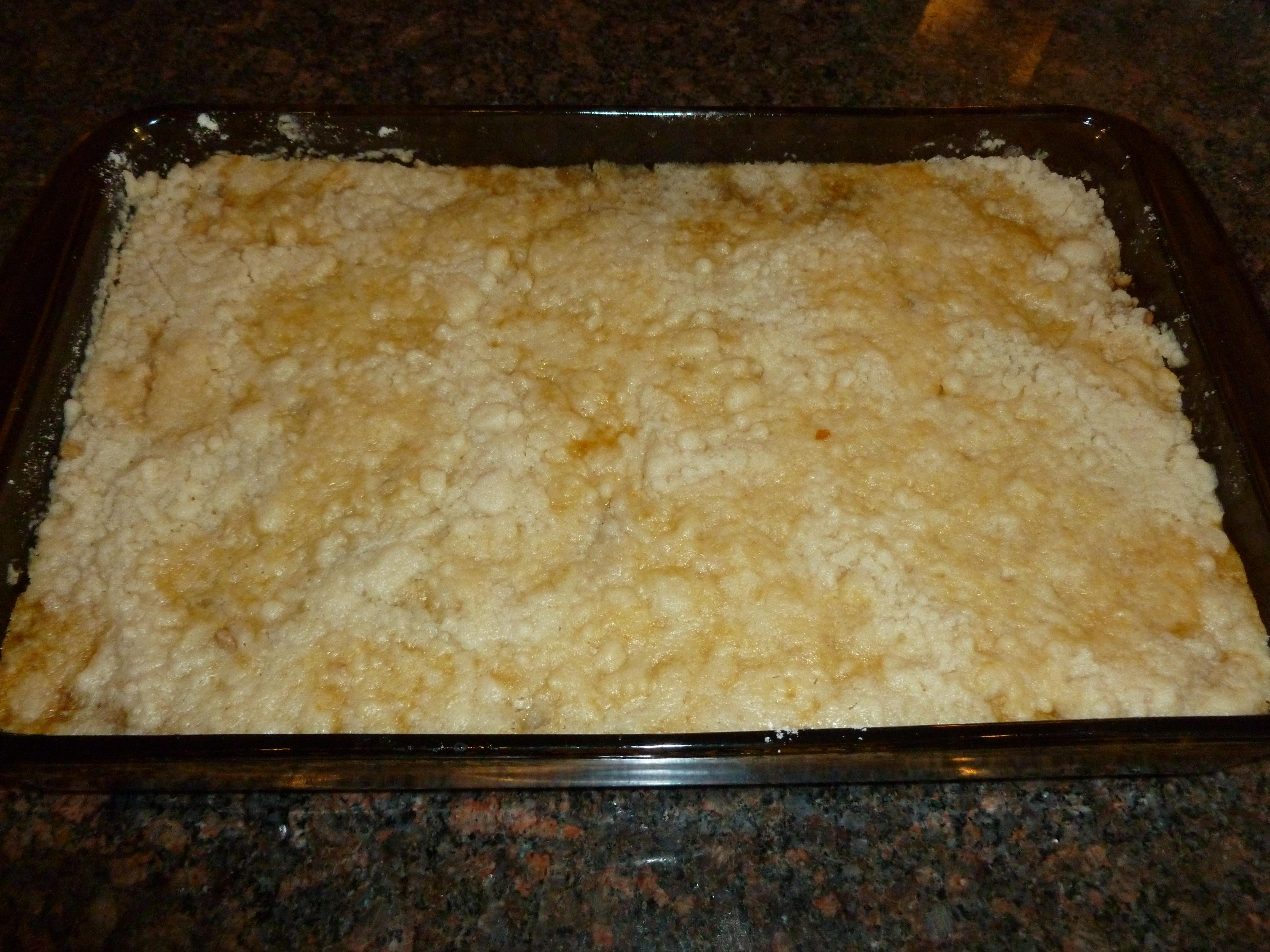 Angel Food Cake Pineapple Dump Cake