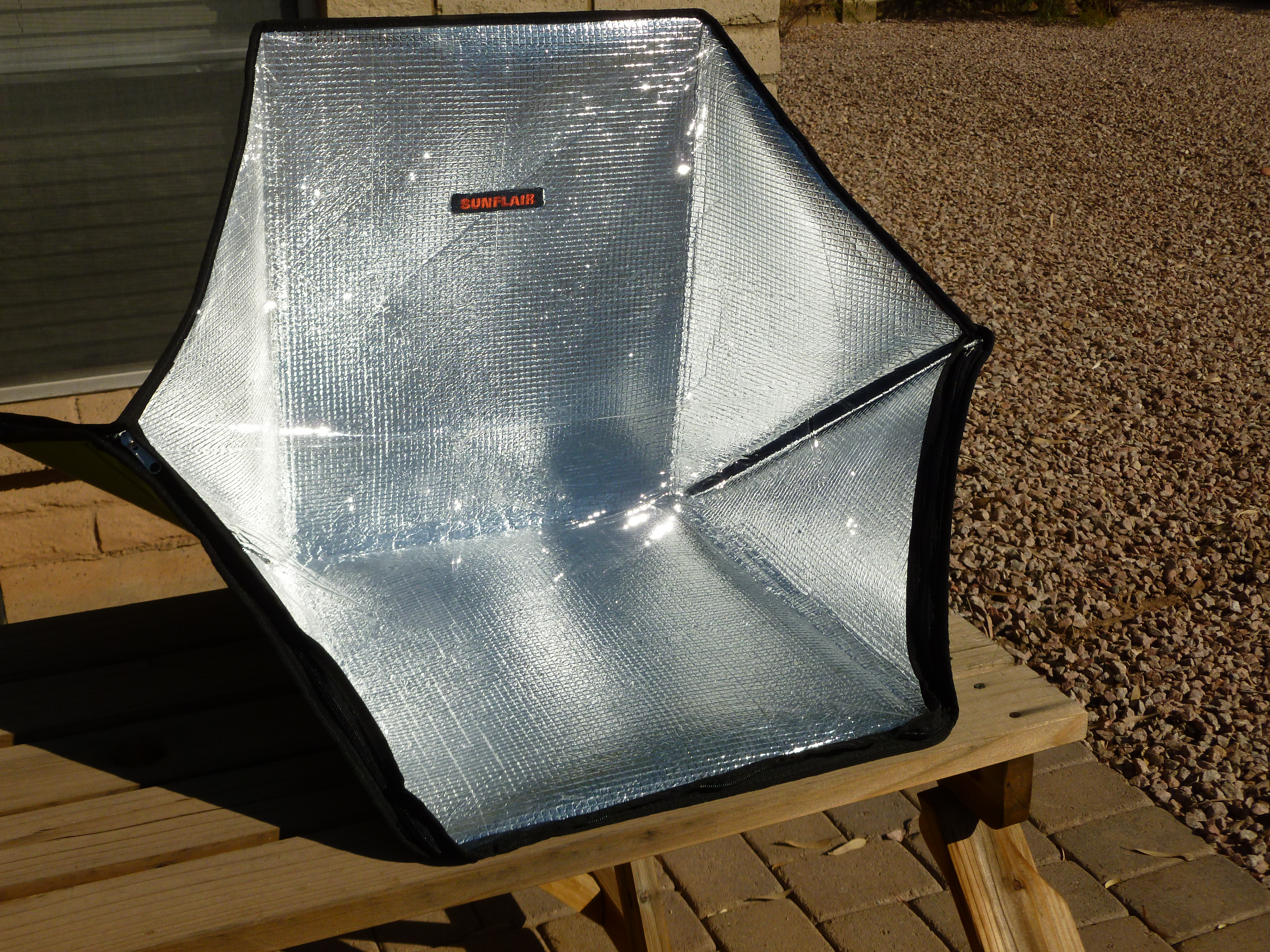 Sunflair Solar Oven Review Part One