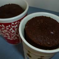 Solar Chocolate Cake Baked in a Mug