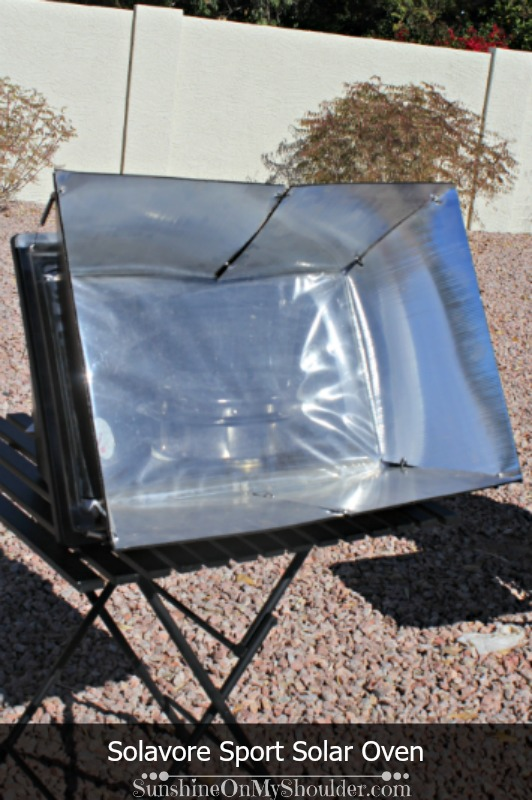Sport Solar Oven; box solar cookers