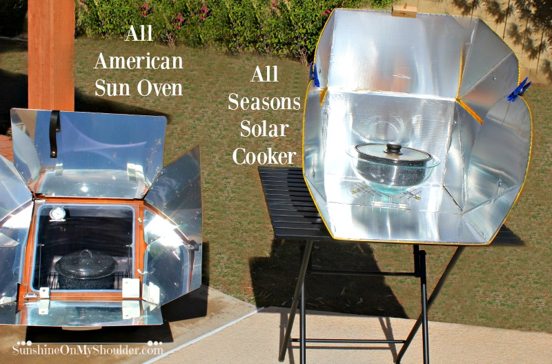 All American Sun Oven and All Season Solar Cooker