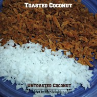 Toasted Coconut in the Solar Oven