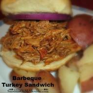 Solar Barbeque Turkey Sandwich