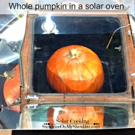 How To Make a Baked Pumpkin in a Solar Oven