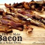 Solar Baked Bacon
