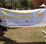 Solar Cooking Demo at Great Solar Cookout 2014
