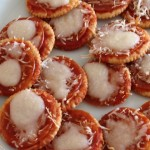 Quick Pizza Crackers