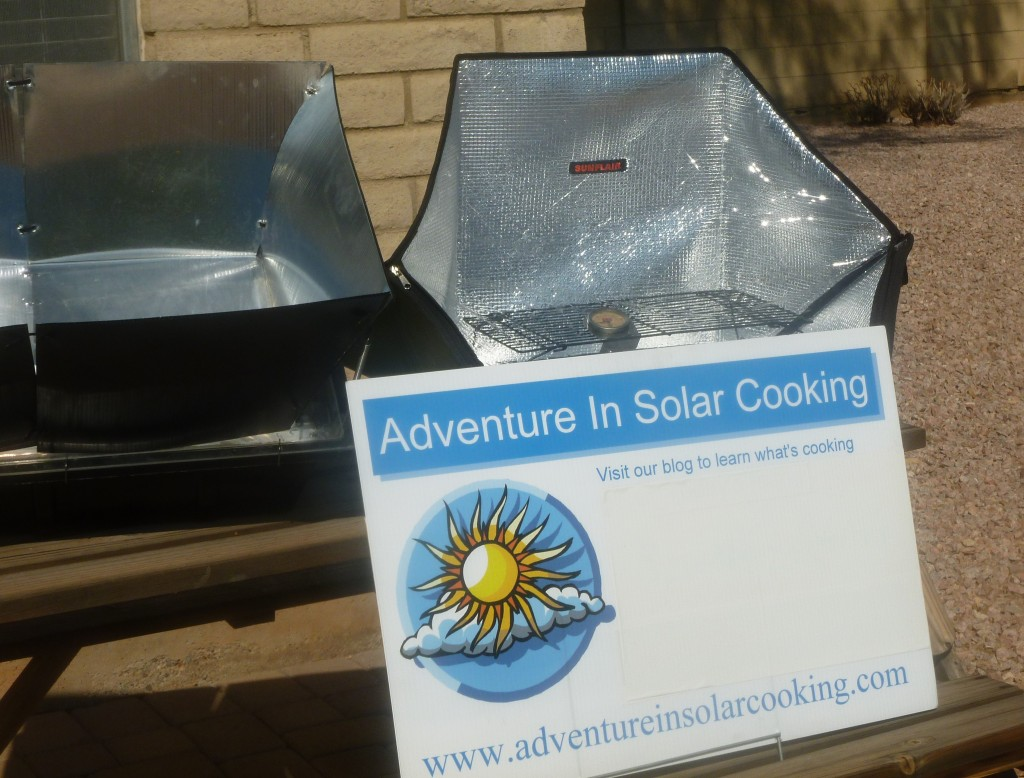 Adventure In Solar Cooking Sunflair Solar Cooker