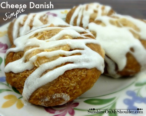 Simple Cheese Danish