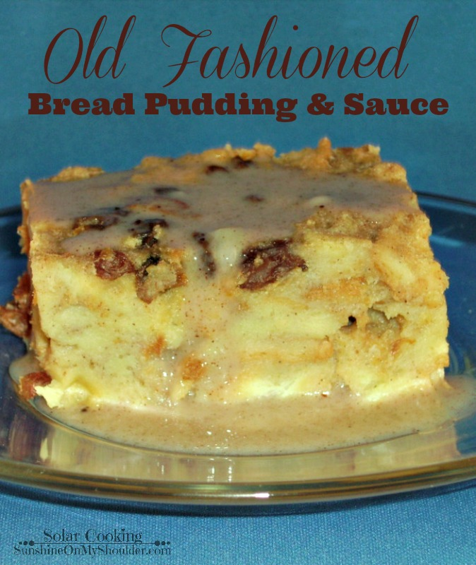 Old Fashioned Bread Pudding On Pinterest