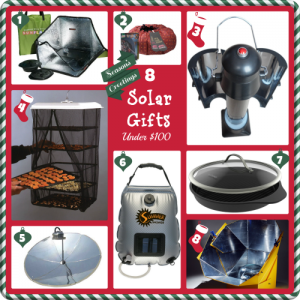 image of solar gifts for Christmas