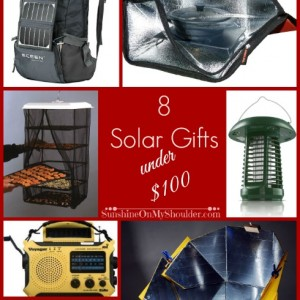 solar gifts under $100