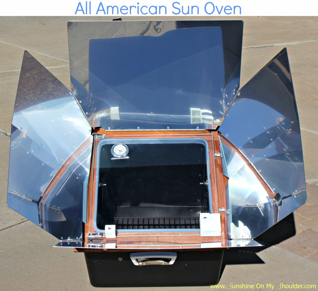 All American Sun Oven benefits of solar cooking
