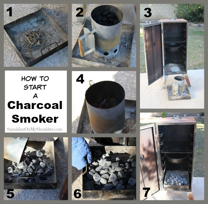 how to light charcoal collage