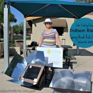 Solar Cooking Demo at Dobson Ranch Kid's Camp