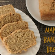 Mango Banana Bread Recipe for Solar Oven Cooking
