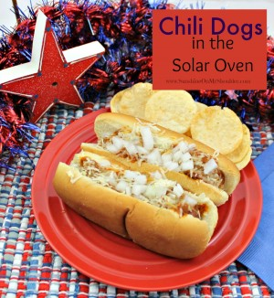 image of chili dogs