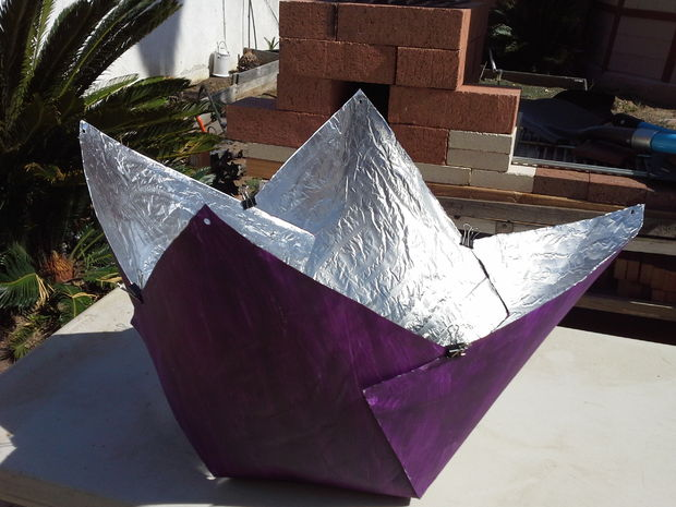 image of Purple Fig Solar Cooker solar oven projects for kids