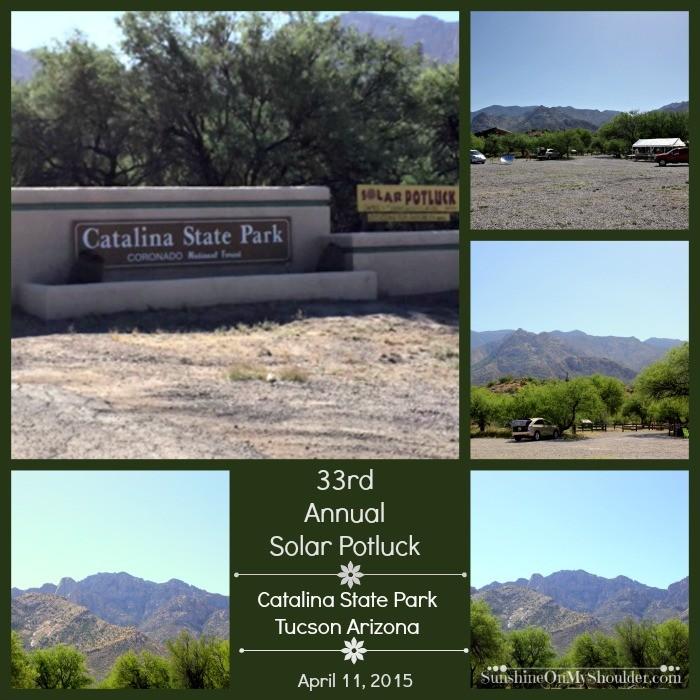 Solar Potluck at Catalina State Park, Tucson AZ