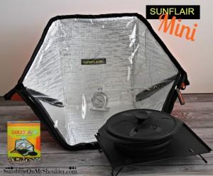 Mini SunFlair Solar Oven