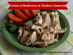 Mushroom & Chicken Casserole