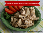 Solar Cooking: Mushroom and Chicken Casserole