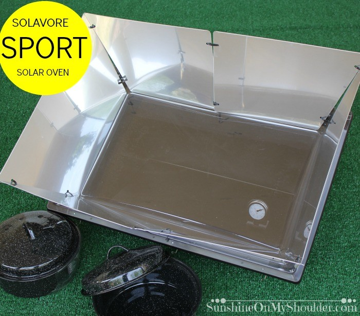 Solavore Sport Solar Oven benefits of solar cooking