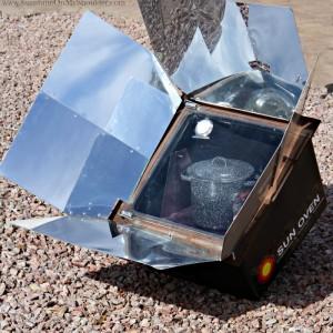 American Sun Oven solar cooker