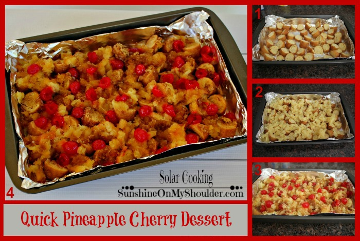 Pineapple Cherry Dessert