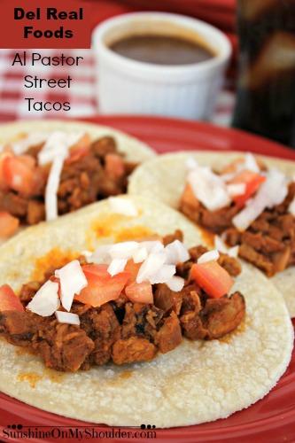 Del Real Foods Street tacos