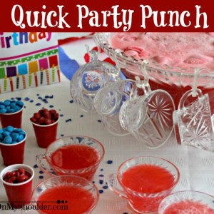 Quick-Party-Punch