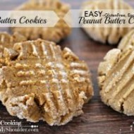Easy Peanut Butter Cookies | Solar Cooking