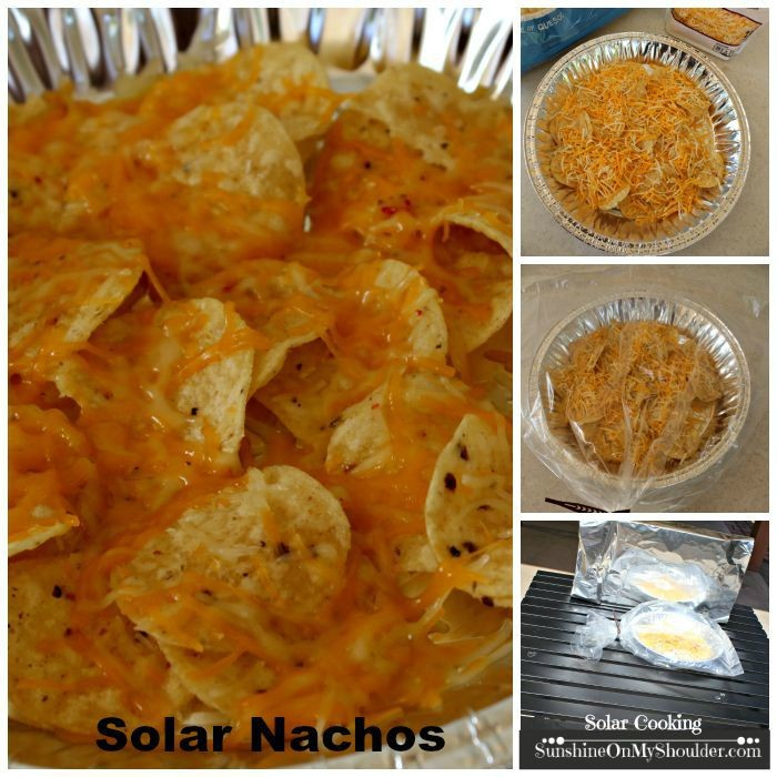 Easy solar cooking project for kids