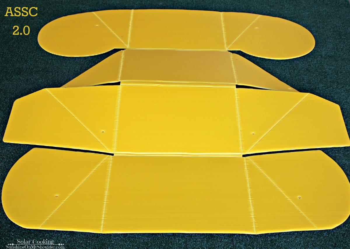 ASSC solar cooker