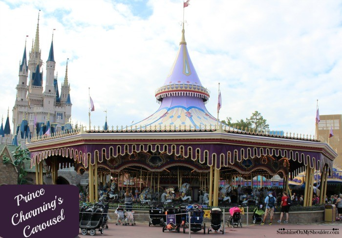 Disney World Prince Charming's Carousel