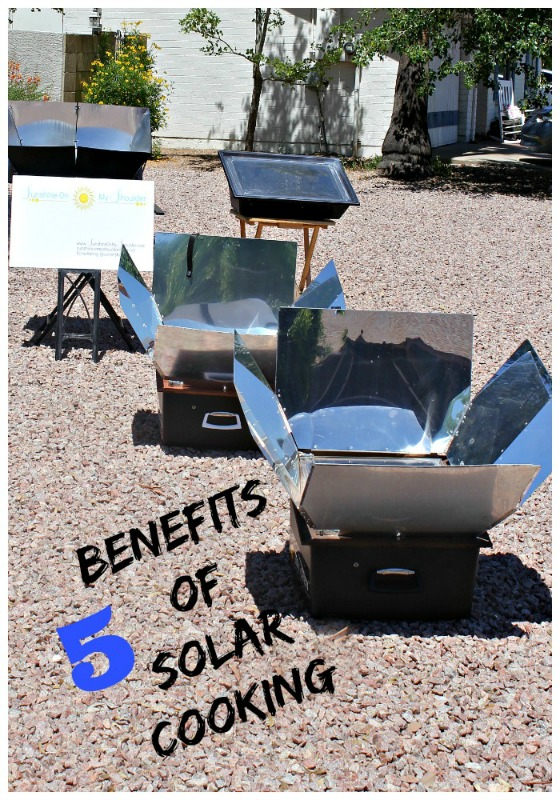 Benefits of Solar Cooking